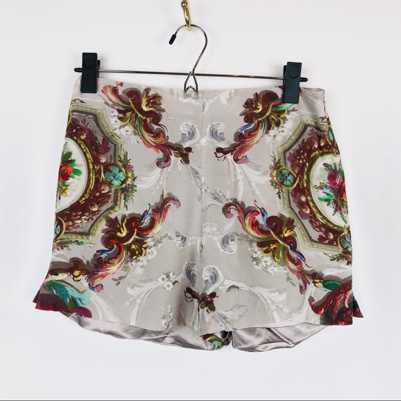 28236fc61 Ted Baker Ornate Floral Silk Shorts. M 5be37f18aa8770a0db9e330f
